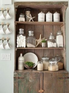 Easy diy rustic coastal decor that will beauty your home 09