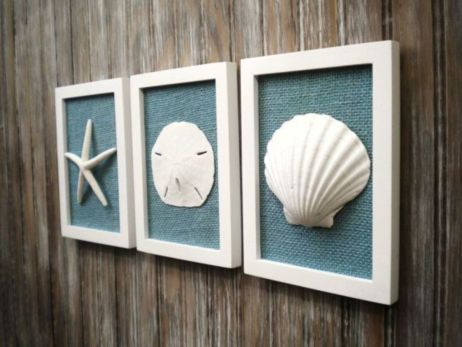 Easy diy rustic coastal decor that will beauty your home 10