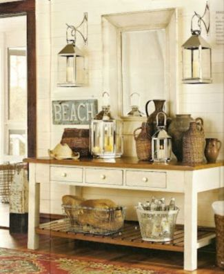 Easy diy rustic coastal decor that will beauty your home 37