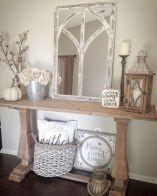 Elegant farmhouse decor ideas for your home (18)