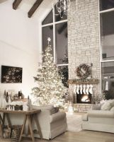 Elegant farmhouse living room design decor ideas (1)