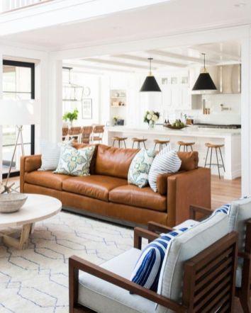 Elegant farmhouse living room design decor ideas (28)