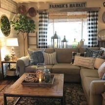 Elegant Farmhouse Living Room Design Decor Ideas