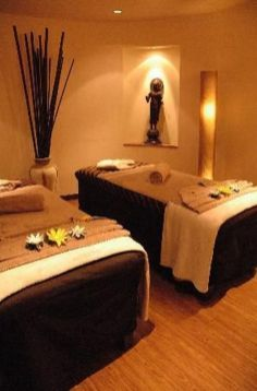 Excellent indoor spa decorating ideas 25