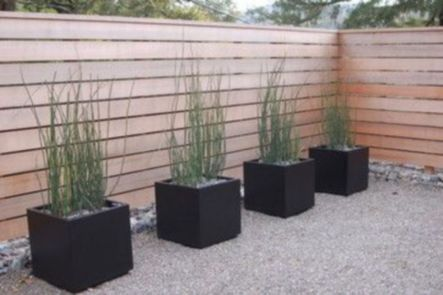 Exclusive and modern minimalist fence design ideas 01