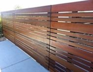 Exclusive and modern minimalist fence design ideas 03