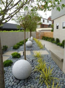 Exclusive and modern minimalist fence design ideas 06