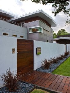 Exclusive and modern minimalist fence design ideas 10