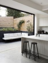 Exclusive and modern minimalist fence design ideas 17