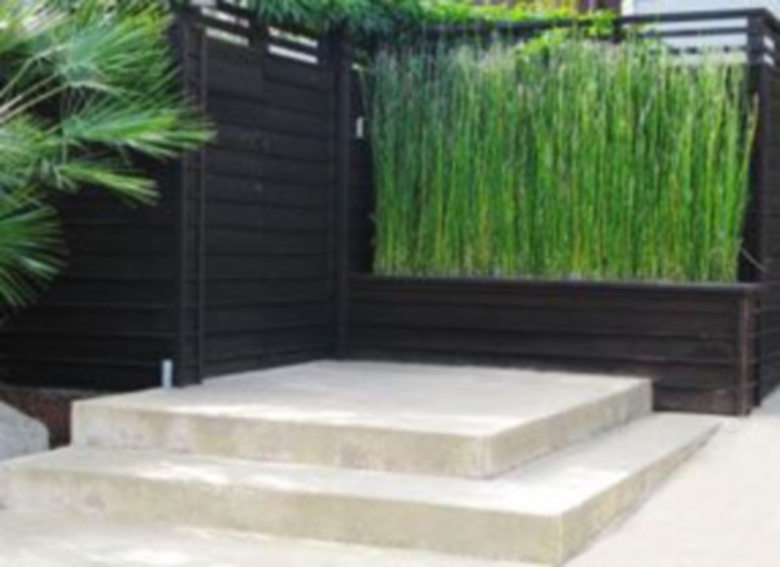 Exclusive and modern minimalist fence design ideas 36