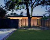 Exclusive and modern minimalist fence design ideas 44