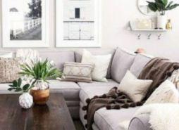 Fresh neutral color scheme for modern interior design ideas 16
