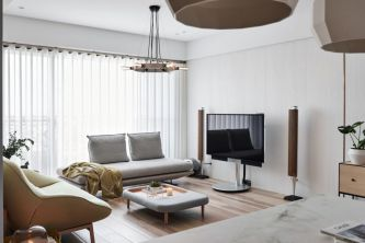 Fresh neutral color scheme for modern interior design ideas 23