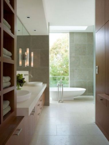 Fresh neutral color scheme for modern interior design ideas 44