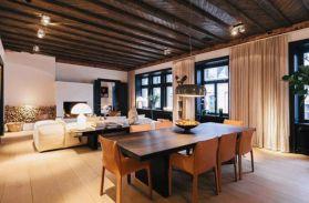 Luxury scandinavian taste dining room ideas (1)
