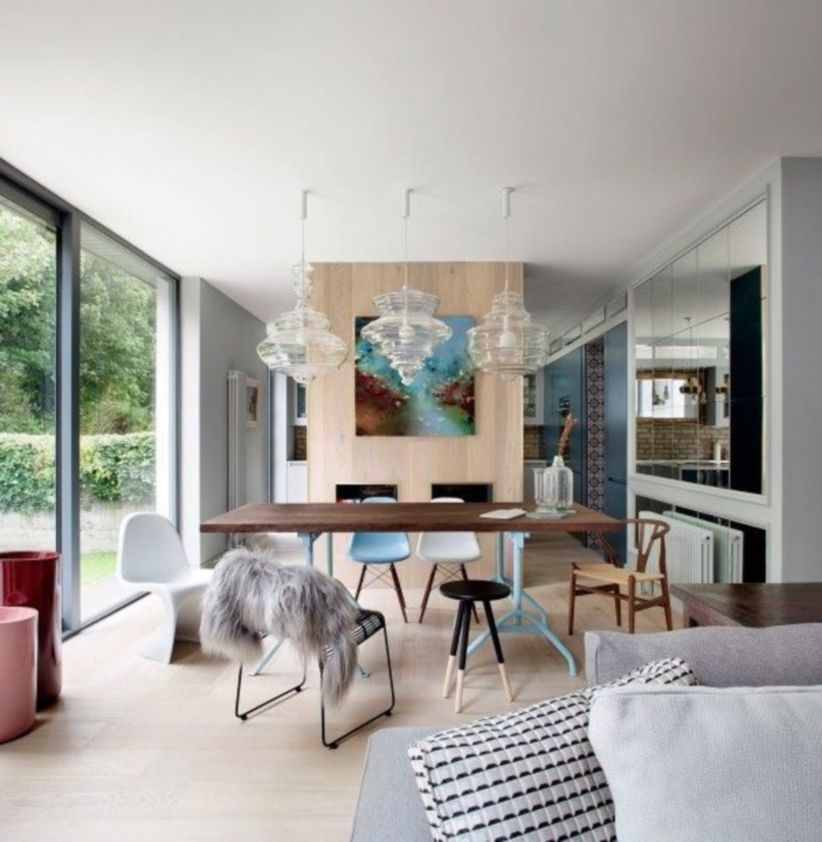 Luxury scandinavian taste dining room ideas (2)