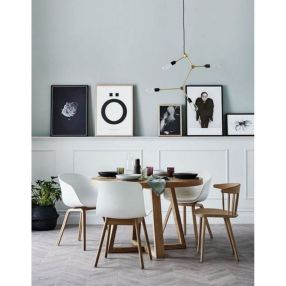 Luxury scandinavian taste dining room ideas (28)