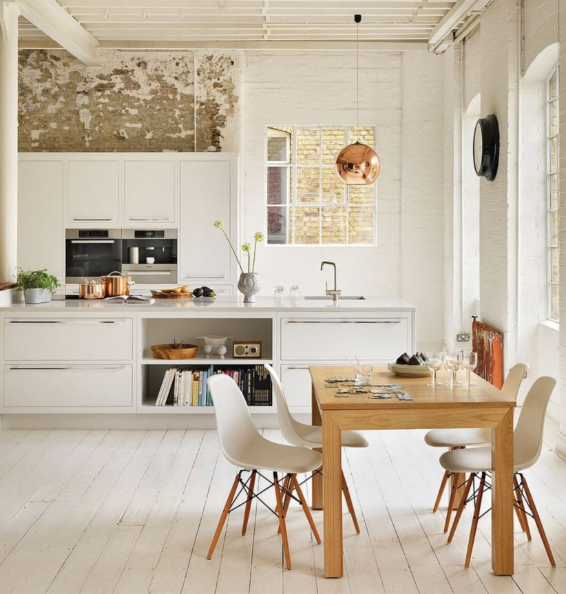 Luxury scandinavian taste dining room ideas (30)