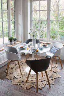Luxury scandinavian taste dining room ideas (38)
