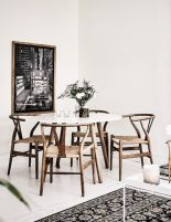 Luxury scandinavian taste dining room ideas (4)