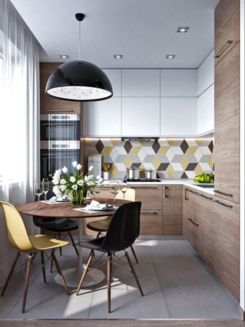Luxury scandinavian taste dining room ideas (41)