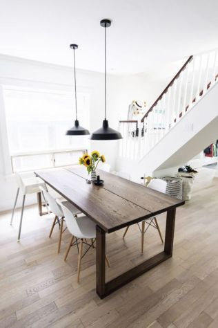 Luxury scandinavian taste dining room ideas (49)