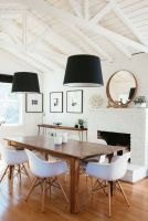 Luxury scandinavian taste dining room ideas (5)