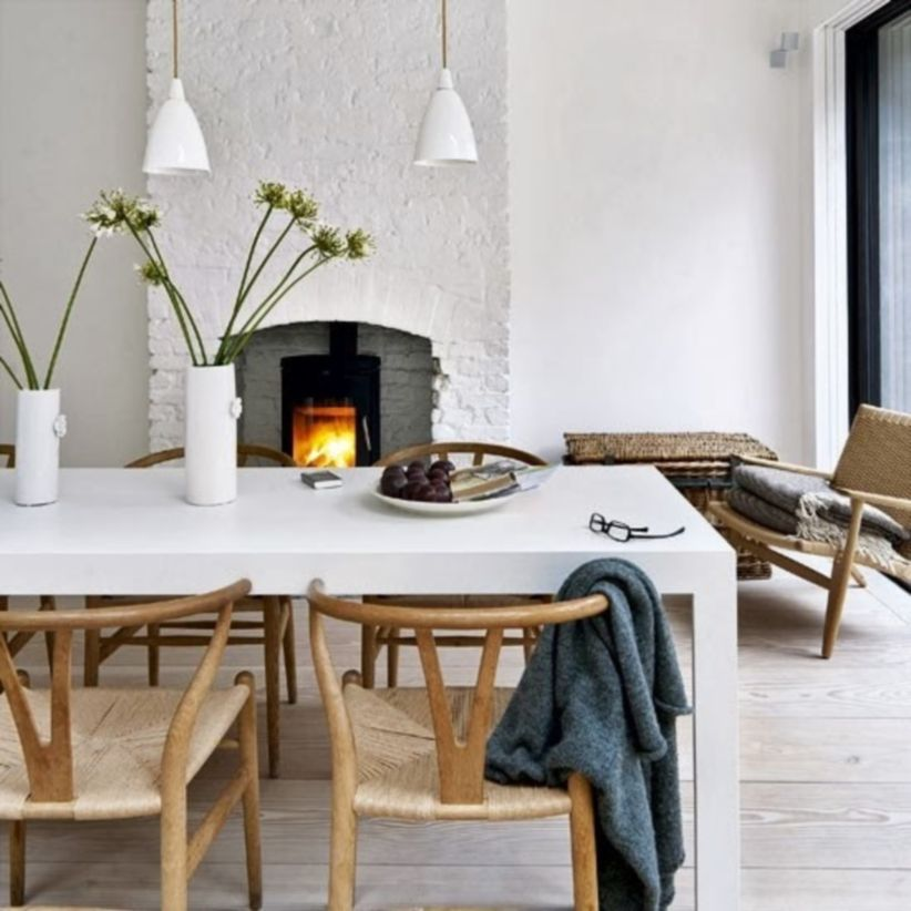 Luxury scandinavian taste dining room ideas (7)