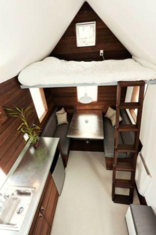 Perfect interior design ideas for tiny house 36