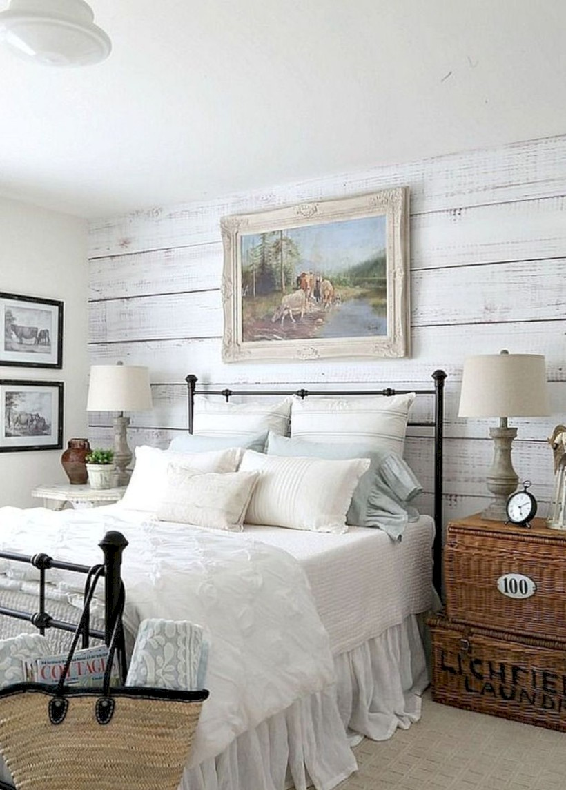 Rustic Farmhouse Bedroom Decorating Ideas 33 Round Decor