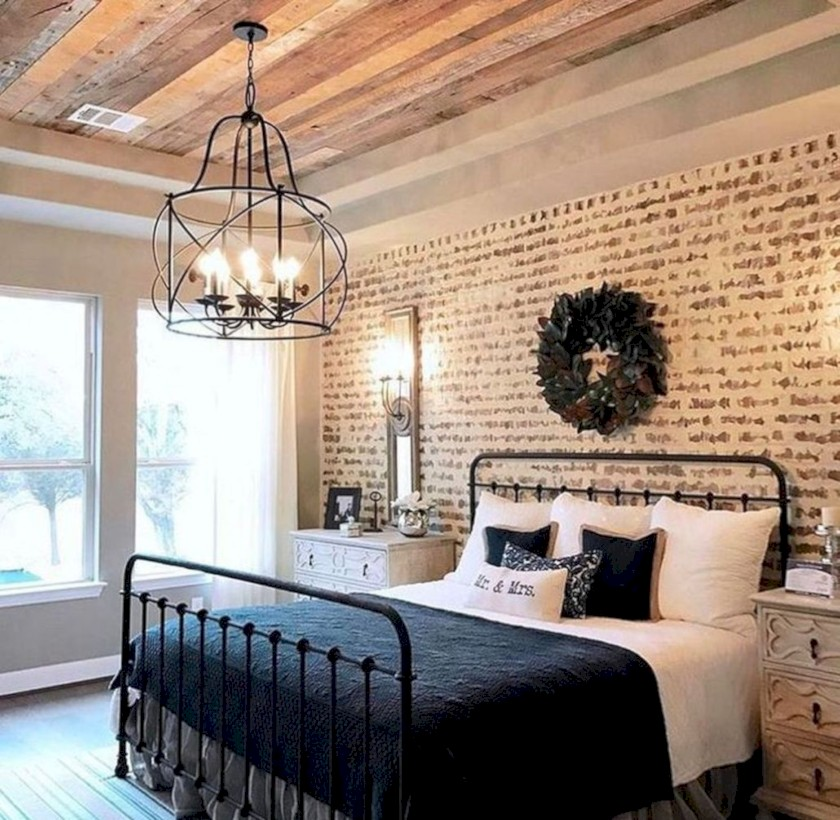 44 Rustic Farmhouse Bedroom Decorating Ideas