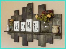 Simply and cozy farmhouse wall decor ideas (30)