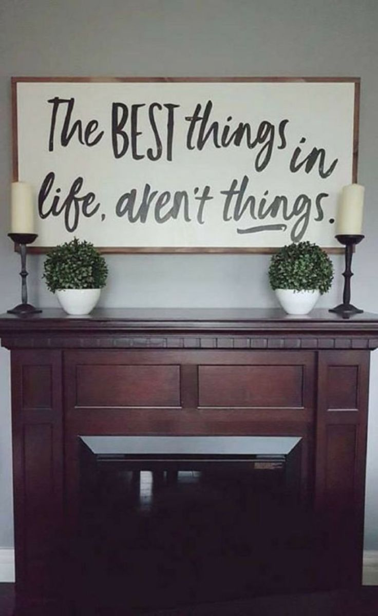 Simply and cozy farmhouse wall decor ideas (40)