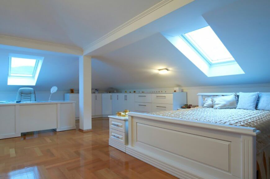 Astounding bedrooms with skylights that everyone will adore 28