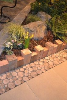 Awesome ways to creatively edge your garden 47