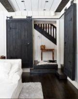 Best way using barn doors inside 10
