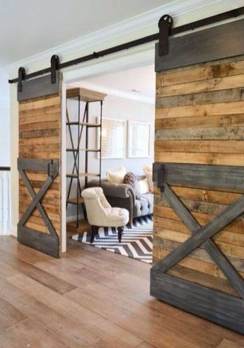 Best way using barn doors inside 16