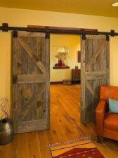 Best way using barn doors inside 32