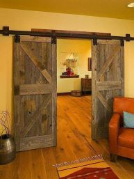 Best way using barn doors inside 32