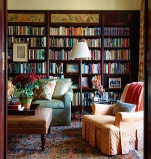 Delightful home libraries perfect book collection 34