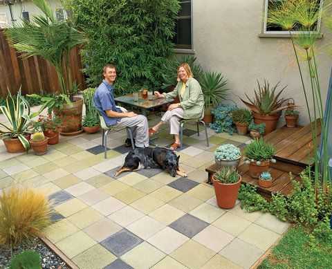 Easy and cheap outdoor spaces 46