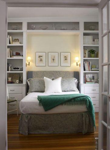 Genius stylish bedroom storage ideas 12