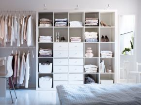 Genius stylish bedroom storage ideas 26