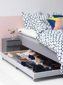Genius stylish bedroom storage ideas 31