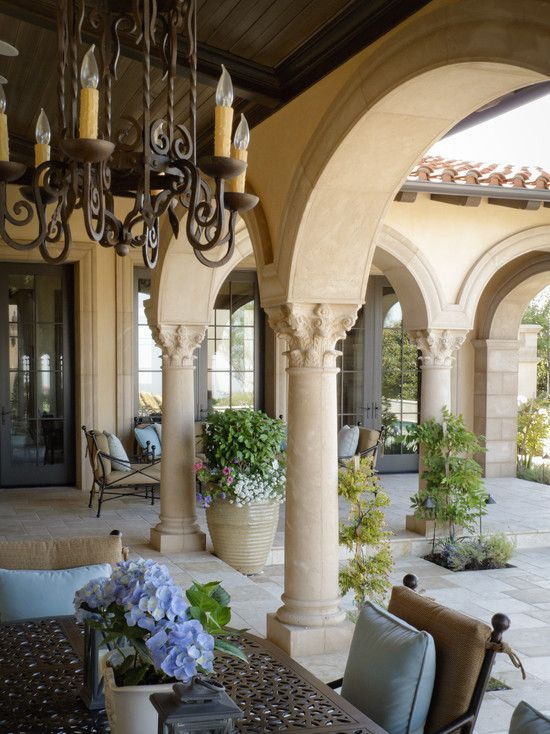 Sophisticated mediterranean porch designs youll fall in love with 14