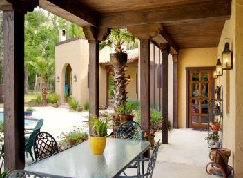 Sophisticated mediterranean porch designs youll fall in love with 40