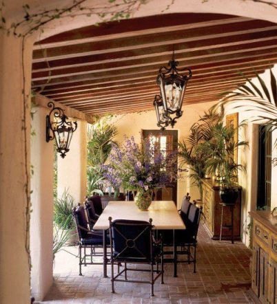 Sophisticated mediterranean porch designs youll fall in love with 45