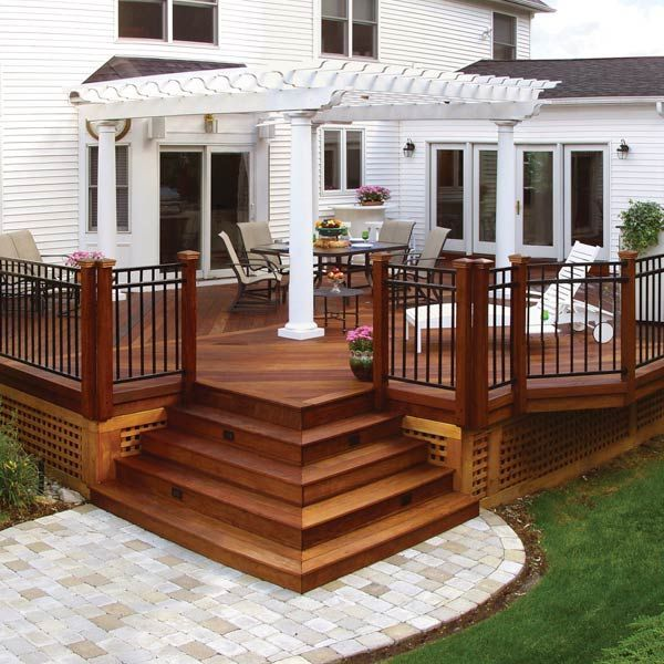 Unbelievable pictures deck landscaping excellence 01