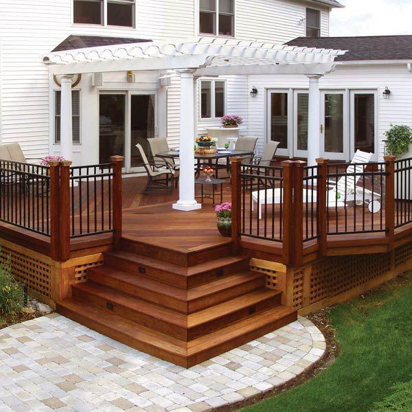 Unbelievable pictures deck landscaping excellence 01