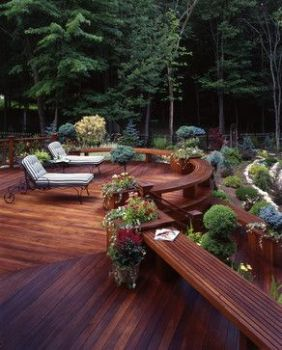 Unbelievable pictures deck landscaping excellence 02